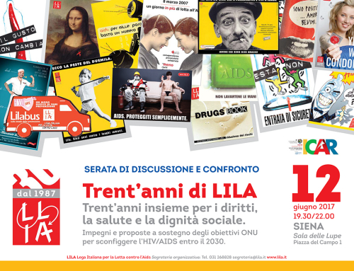 Trent'anni di LILA. Insieme per i diritti, la salute e la dignità sociale a ICAR 2017